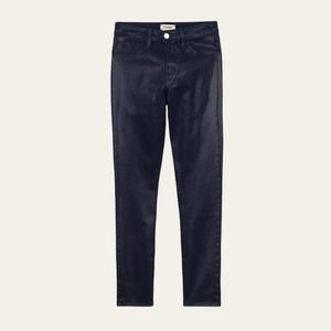 L'agence Margot High Rise Navy Coated Jean